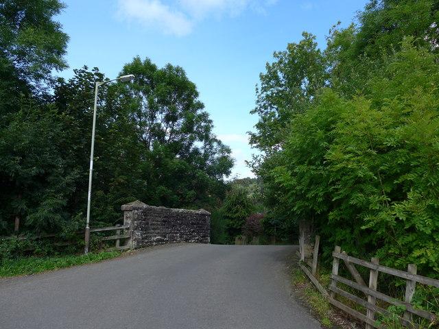 Bridge in Sauchie Road