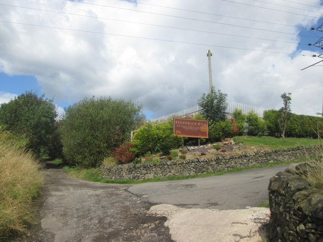 Entrance to Standrick Hill Farm