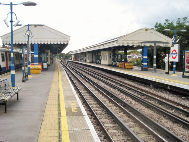 Turnham Green tube/railway station, Greater London
