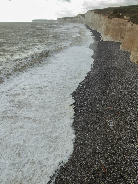Beach, Birling Gap, Sussex