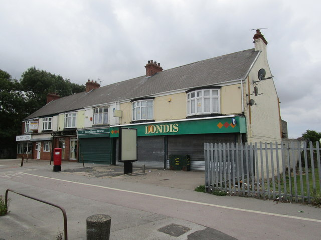 Shops on Marfleet Lane