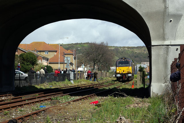 A 'last train' on the Folkestone Harbour branch