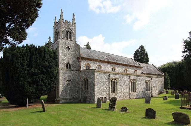St Martin of Tours, Houghton