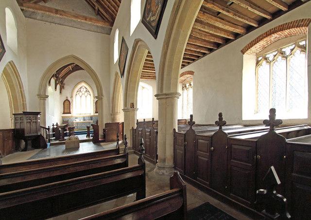 St Martin of Tours, Houghton - South arcade