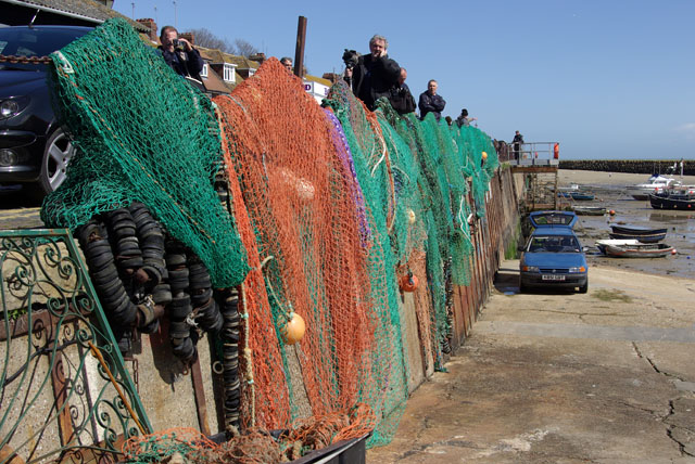 Drying nets, Folkestone