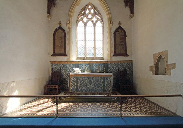 St Martin of Tours, Houghton - Sanctuary
