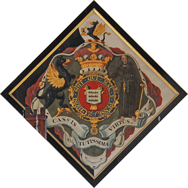 St Martin of Tours, Houghton - Hatchment