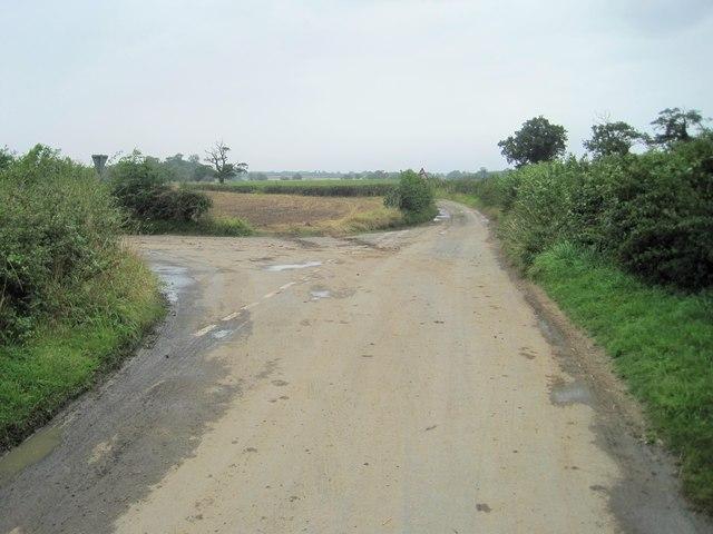 Catterton Lane junction