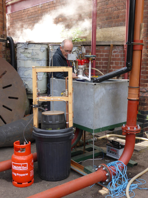 Claymills Victorian Pumping Station - Now why won't this thing work?