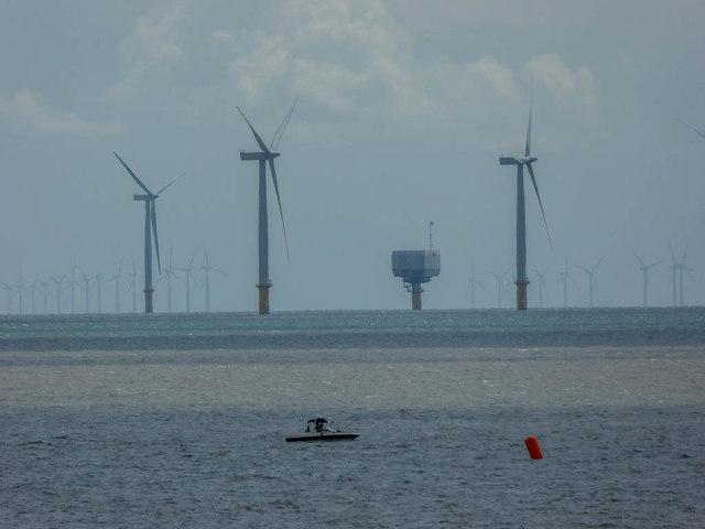 Wind Turbines, Clacton, Essex
