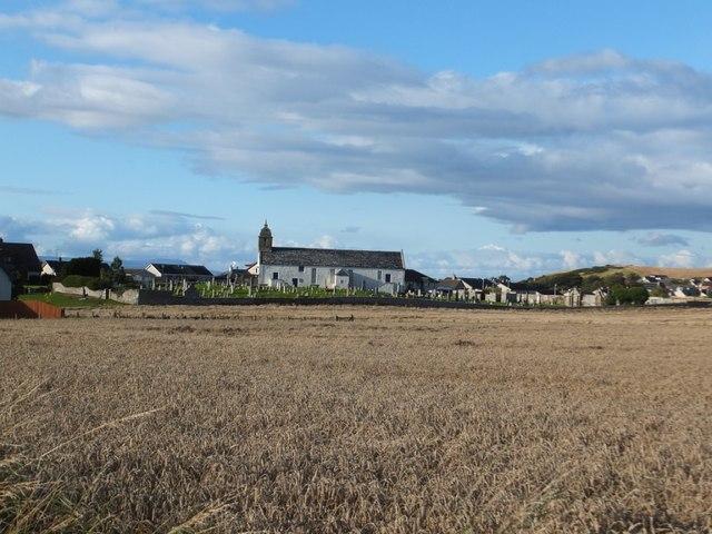 Barley field at Highfield