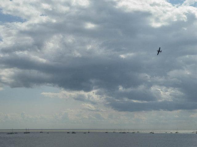 Hurricane at the Air Show, Clacton, Essex