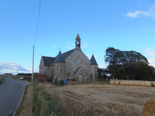Former church by B9165