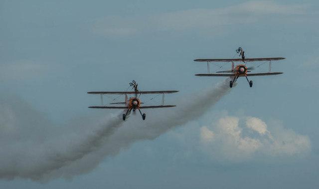 Breitling Wing Walkers, Clacton, Essex