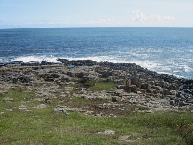 Rocks at Cullernose Point