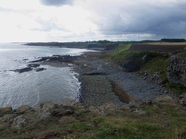 Swine Den seen from Cullernose Point