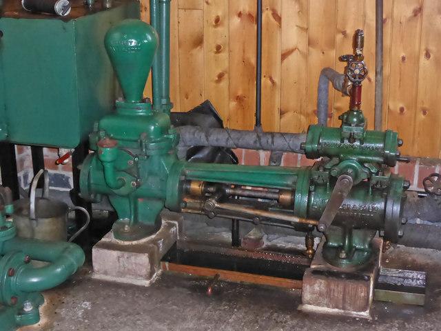 Claymills Victorian Pumping Station - steam pump