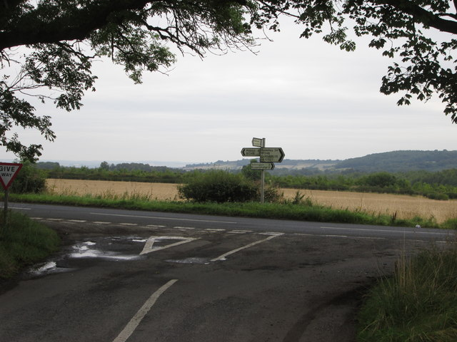 Stonepit  Lane  junction  with  B1248