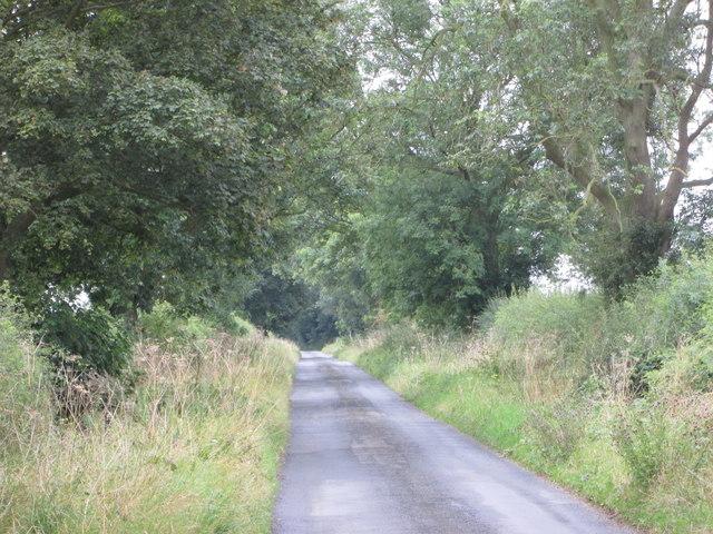 Stonepit  Lane  heading  south  to  Cordike  Lane