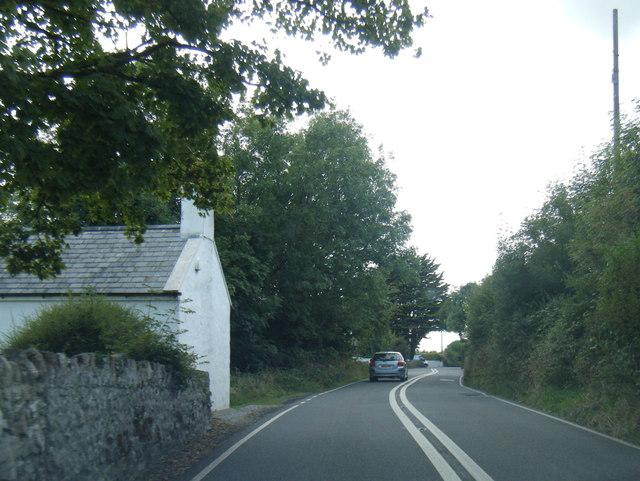 A4118 near Penmaen Farm
