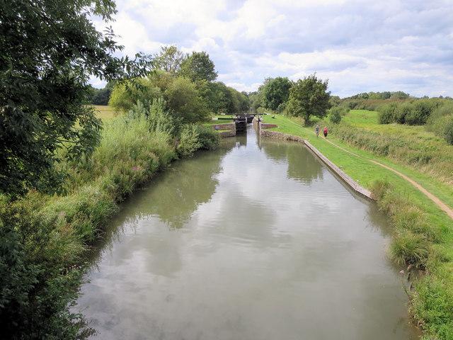Benham Lock from Benham Bridge