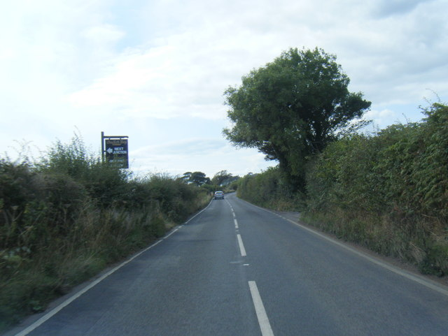 A4118 west of Nicholaston