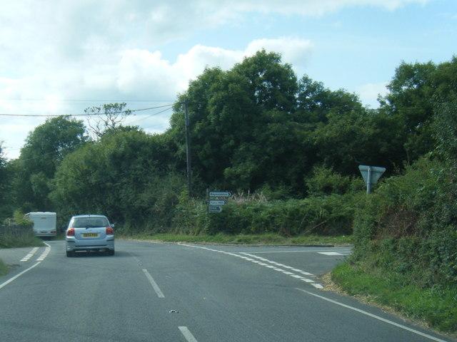 A4118 at Little Reynoldston