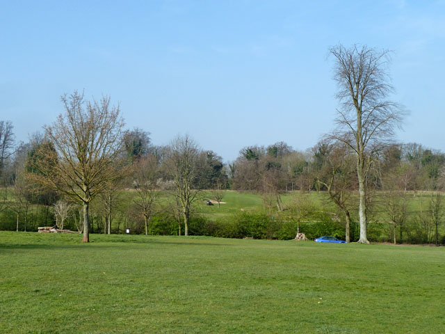 View towards golf course