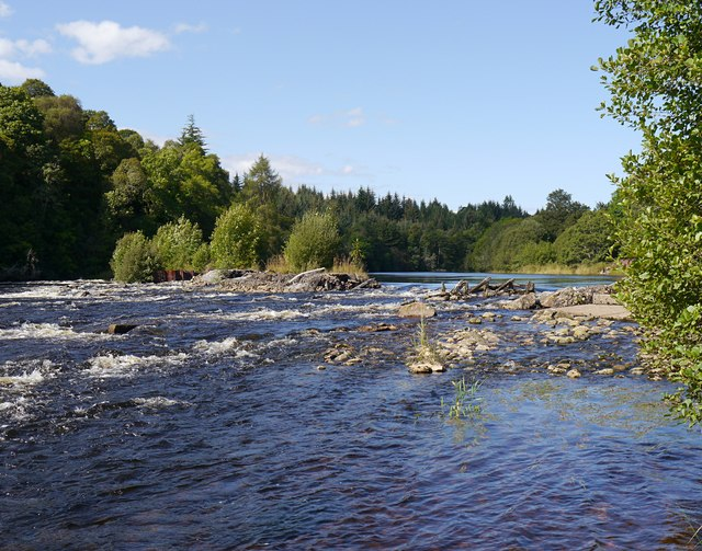Southern end of the Cruives, River Beauly