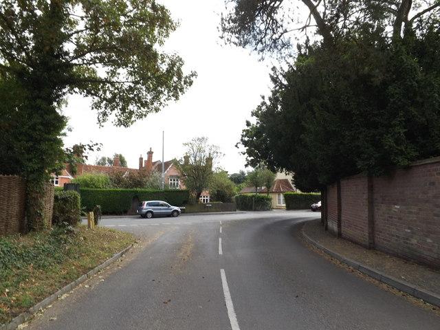 Hadleigh Road, East Bergholt