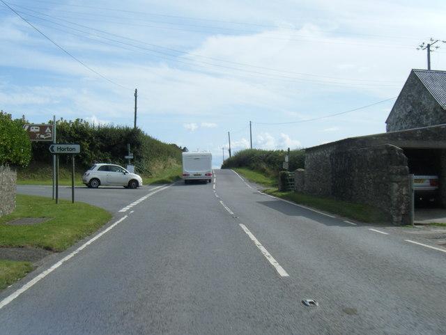 A4118 at Moor Corner Farm