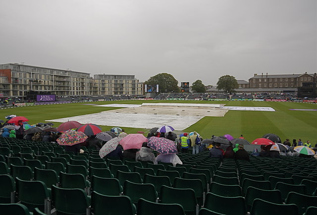 All rain, no cricket