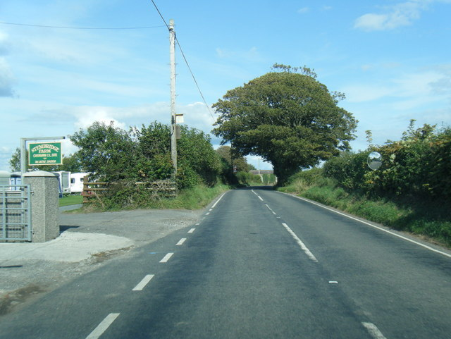 Oldwalls Lane at Stembridge Farm