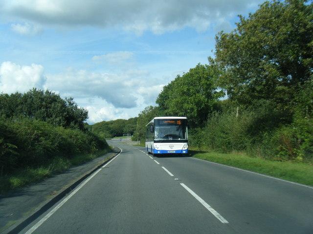 B4295 near Wern-halog Farm