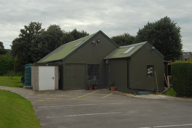 Sheds at East Glos Club