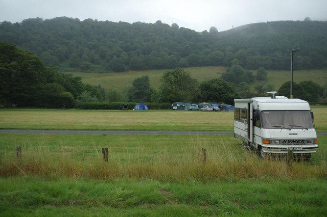 Camping at Carrog