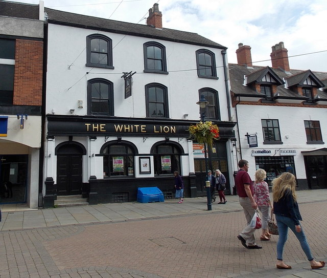 The White Lion in Melton Mowbray