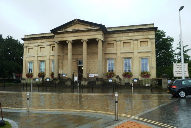 Entrance to Swansea Museum