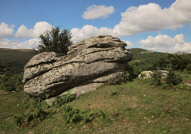 Rock above Widecombe
