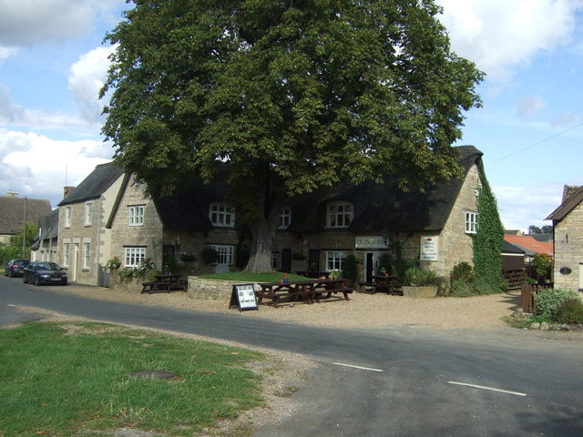 The Crown Inn pub, Elton