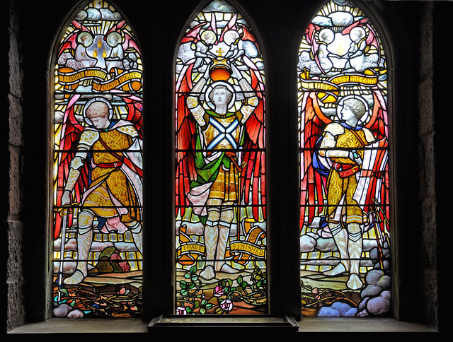 McCorquodale window, St Conan's Kirk