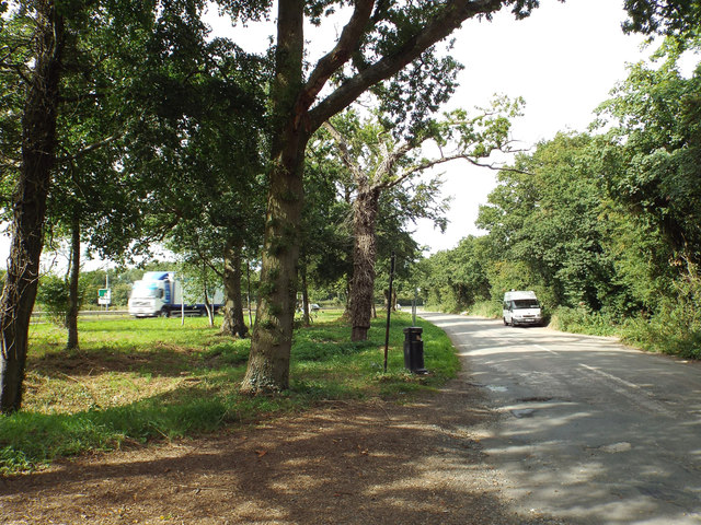 Lay-by off A435 Alcester Road