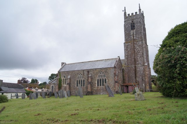 Petrockstowe church