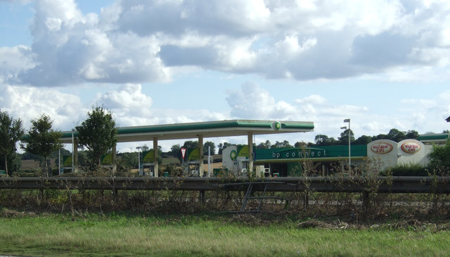 Service station off the A1