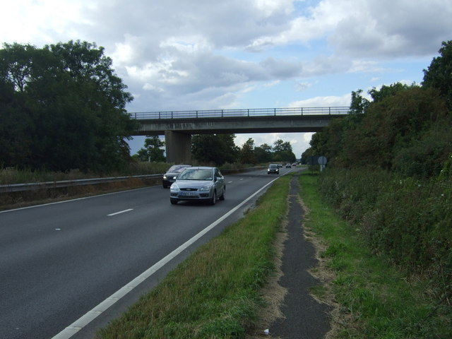 A605 bridges the A1