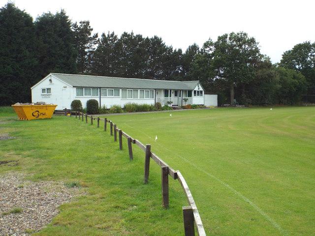 Pavilion, Tanworth and Camp Hill Cricket Club, Alderhanger Lane
