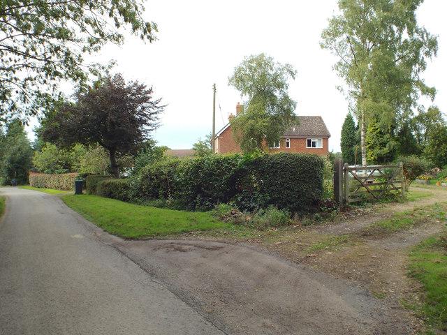 House by Alderhanger Lane
