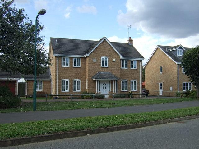 Modern housing, Alwalton