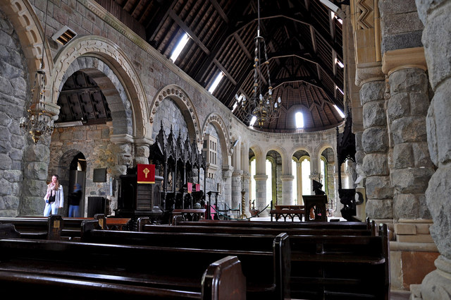 Nave and Chancel, St Conan's Kirk