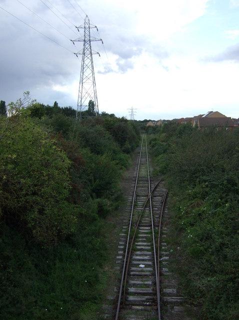 Railway heading north west